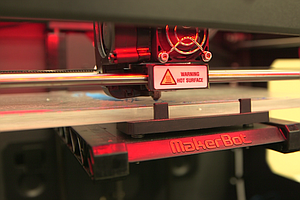 Tease photo for 3-D Printers Add Dimension To The College Experience