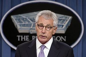 Under Pressure, Hagel Steps Down As Defense Secretary