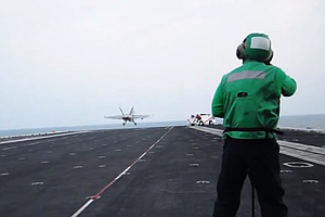 Tease photo for USS Carl Vinson Continues Airstrikes In Campaign Against ISIS (Video)