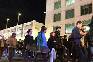 Tease photo for Ferguson-Fueled Protests Continue Wednesday Night In San Diego
