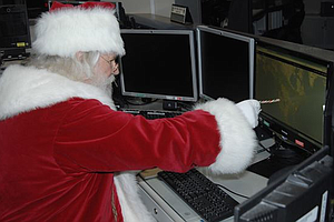 Tease photo for NORAD Santa Claus Tracker Website Up And Running (Video)