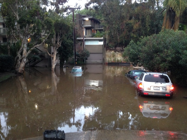 Passport San Diego >> Storm Causes Flooding Overnight; Showers To Continue In ...