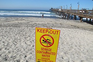 Contamination Alert Issued For Southern San Diego Beaches