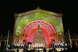 Holiday Festivals Kick Off At  Balboa Park And Petco Park
