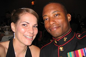 Wife Turns Tables On Marine Husband, Surprises HIM At Cam...