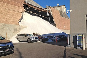Tease photo for Salt Pours On Cars After Morton Storage Collapse