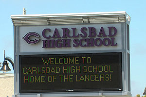 Tease photo for Carlsbad High Closed Tuesday After Instagram Threat