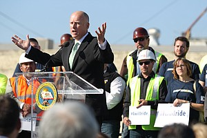 California Breaks Ground On Bullet Train As Climate Solut...