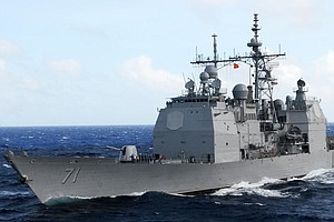 Tease photo for USS Cape St. George To Return To San Diego