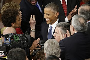 Tease photo for Obama: Shadow Of Crisis Has Passed; State Of The Union Is Strong