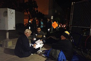 Volunteers, Community Leaders Count San Diego's Homeless