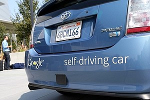 Tease photo for California Considering Safety Of Driverless Cars