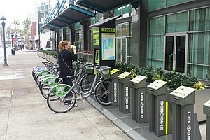Tease photo for First San Diego Bike Share Stations Open For Business