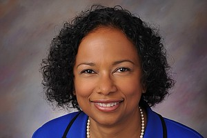Dr. Gail Knight  Inspires as First African-American Woman...