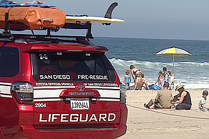 Tease photo for San Diego OKs $1.3M Payment To Settle Lifeguard Lawsuit