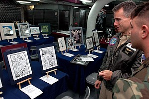 Artists And Illustrators Wanted...By The US Navy (Video)