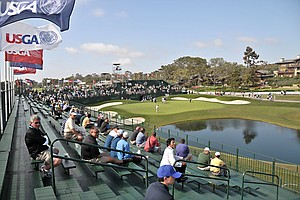 Play Begins In Farmers Insurance Open At Torrey Pines Gol...