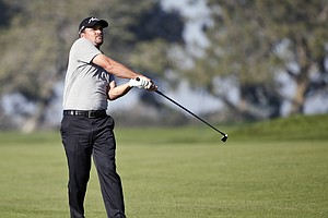 Tease photo for Thompson Leads Entering Second Round Of Farmers Insurance Open