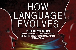 Tease photo for Leading Linguists Lecturing On Language Evolution At UC San Diego