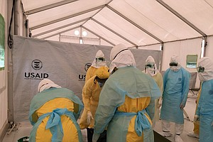 Tease photo for How Should Drug Trials Be Conducted In The Middle Of An Ebola Outbreak?