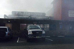 Tease photo for Fire Causes Evacuations At Popular Pacific Beach Restaurant