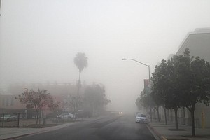 Dense Fog Makes Commute Challenging For San Diego County ...