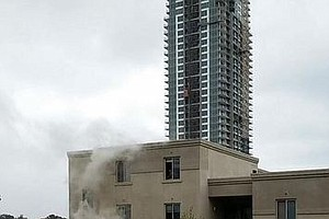 Tease photo for Senior Living Facility Fire In Downtown San Diego Displaces 55, Injures 1