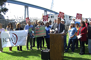 Tease photo for San Diego Congressman Vargas, Civic Leaders Speak Out Against Trade Proposal