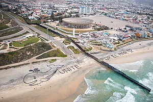 Tease photo for San Diego County-Tijuana Kids Send 'Unite For The Sea' Message