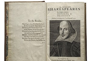 San Diego To Host Major Shakespeare Exhibit