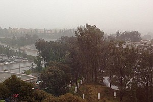 Rain, Snow, Gusty Winds Coming To San Diego County This W...