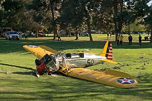 Tease photo for Harrison Ford Crash-Lands Plane On Golf Course