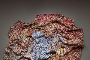 Stunning El Anatsui Exhibit On Display At Museum of Contemporary Art San Diego