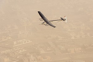 San Diego Company Helps Solar-Powered Aircraft