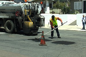 Tease photo for City Officials Looking At 10-Year Program To Improve San Diego Roadways
