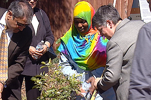 Tease photo for UC President Napolitano Visits San Diego Community Garden