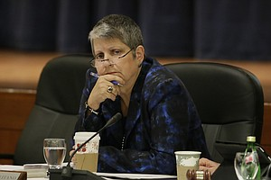 Tease photo for Janet Napolitano Apologizes For Disparaging Student Protest
