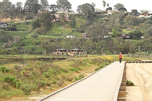 Residents Rally To Save San Dieguito Lagoon Boardwalk