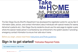 Tease photo for San Diego County Unveils Website To Track Missing Residents