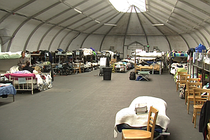 San Diego's Tented Homeless Shelters Close
