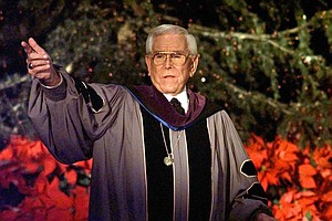 Tease photo for Robert Schuller, Crystal Cathedral Megachurch Founder, Dies