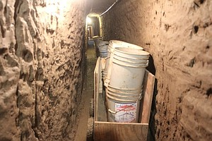 Tease photo for Drug Tunnel Discovered Near Tijuana Airport