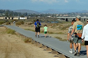 Part Of Del Mar Wetlands Boardwalk To Remain