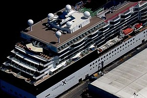 Tease photo for Cruise Ship Docks In San Diego After 100 People Fall Ill