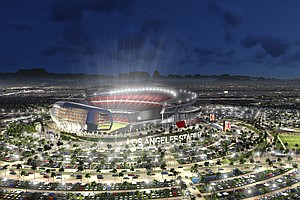 Tease photo for Carson Stadium Proposal For Chargers, Raiders Qualifies For Ballot