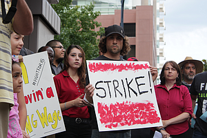 Tease photo for San Diego Strikes, Rallies Call For $15 An Hour