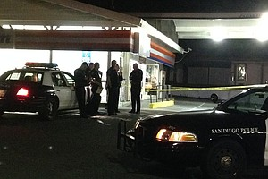 Customer Killed In Robbery At Clairemont Gas Station