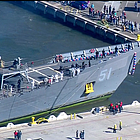 The guided-missile frigate USS Gary returned Friday following a nearly seven-month deployment to Central America.