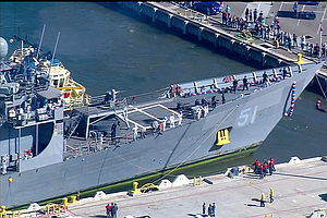 USS Gary Returns To San Diego From Final Voyage