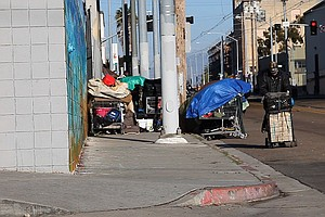 Annual Count Finds 8,700 Homeless In San Diego County